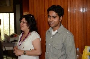 Avinash Nath introducing himself