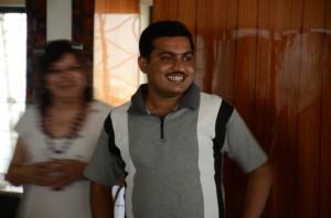 Shubhankar sharing a moral story by Ramkrishna Paramhans